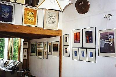 Artistes graveurs simone et henri jean la cheminee bleue - Salons internationaux ...
